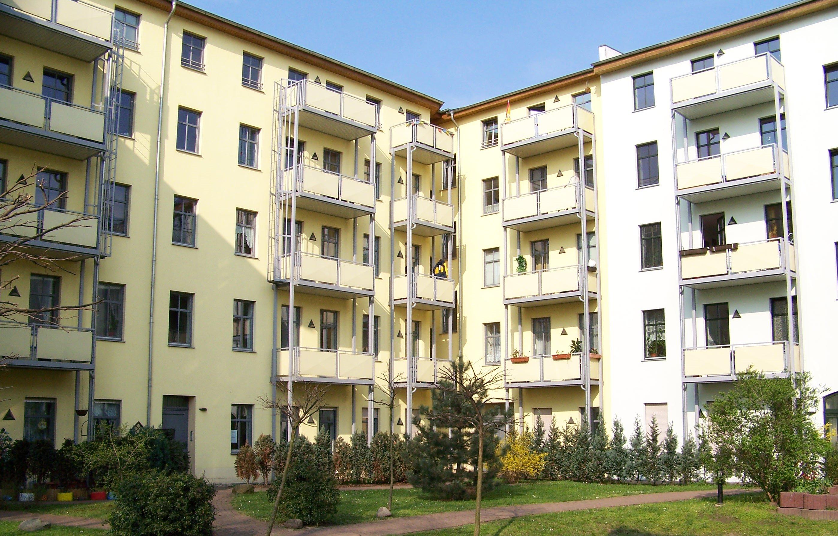 Magdeburg Innenhof